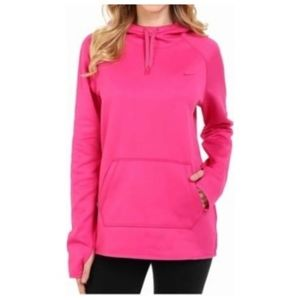 NWOT Nike Therma Fit Hot Pink Hoodie size Large